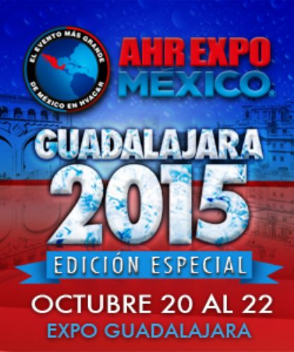 2015.10 Exhibition AHR Expo México