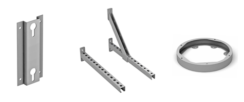 accessories omega wall support wall rail